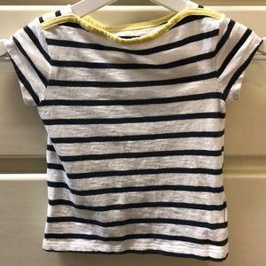 GAP girls striped shirt